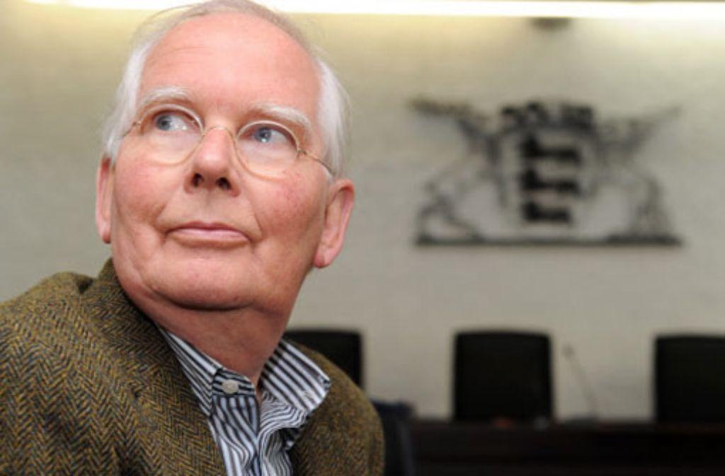 Peter Dübbers, Enkel des Erbauers des Stuttgarter Hauptbahnhofes, hat vor Gericht eine Niederlage erlitten. Foto: dpa