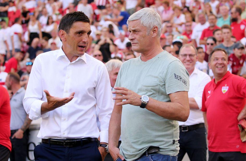 Können Sie in Sachen Trainer des VfB Stuttgart mitreden? Foto: Pressefoto Baumann/Julia Rahn