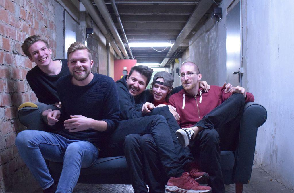 """Die Mitglieder des Fellbacher Quintetts bekennen: """"In Matu stecken wir unsere ganze Energie."""" Foto: privat"""