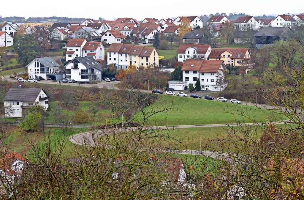 An der Aidenbergsteige ist ein neues Wohngebiet geplant. Foto: factum/Weise