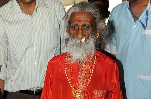 80 Jahre ohne Nahrung? Angeblicher Wunder-Yogi gestorben