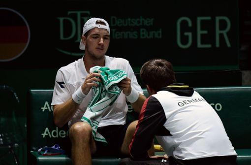 Deutsche Tennis-Herren verpassen Halbfinale