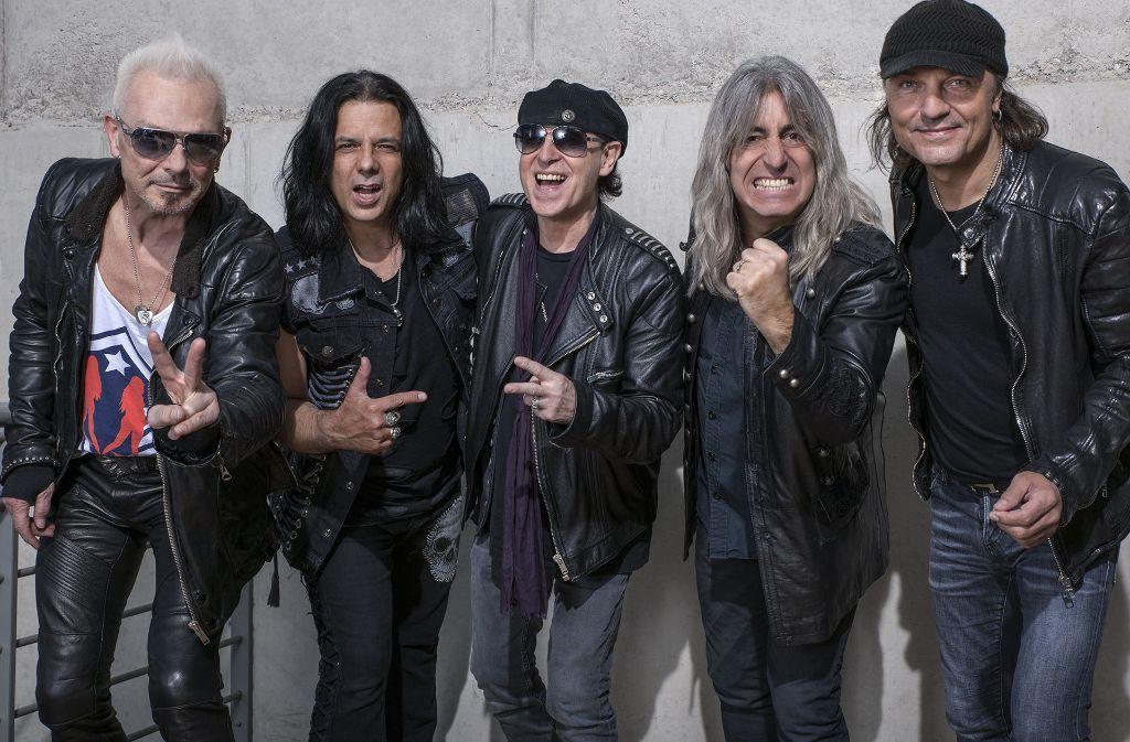 Angriffslustig wie eh und je: die Hannoveraner Rockband Scorpions Foto: Nenadic