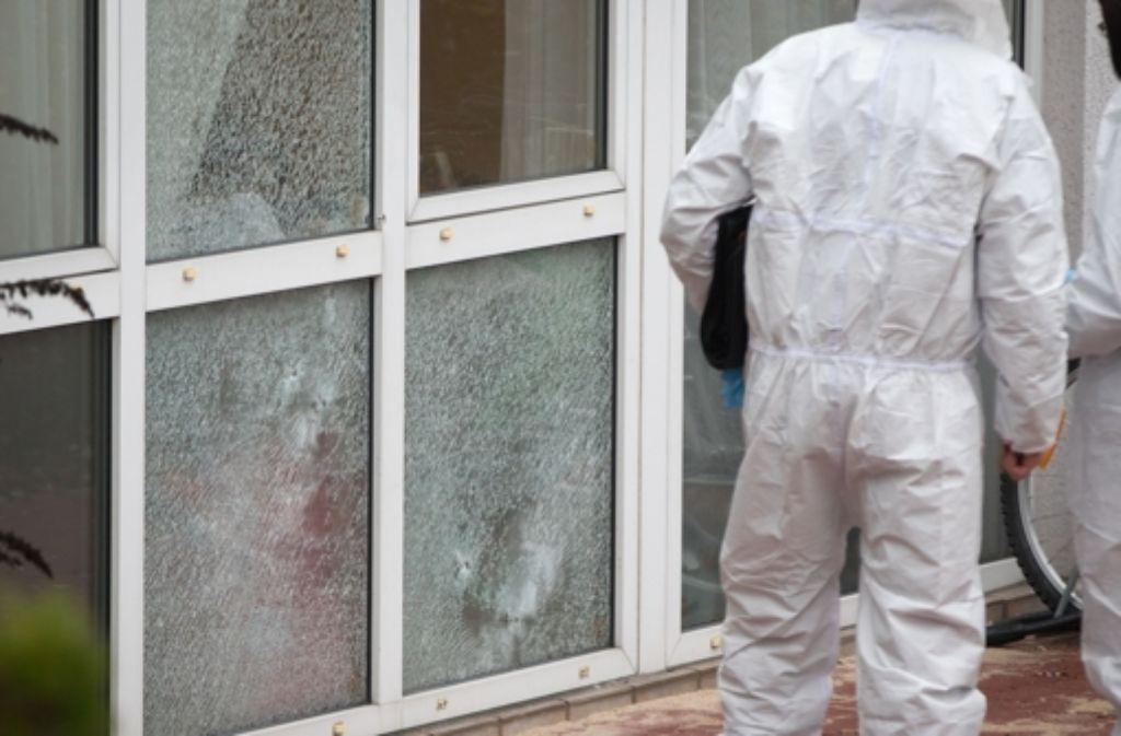 Mehrere Schüsse fielen auf eine Flüchtlingsunterkunft im hessischen Dreieich. Foto: dpa