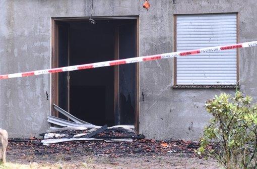 Kaum Hinweise nach Brandanschlag