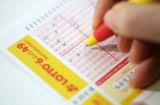 Fatale Muster auf dem Lottoschein