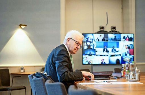 Ein Ministerpräsident in der Krise