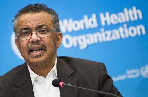 WHO-Chef befürchtet jahrzehntelange Auswirkungen