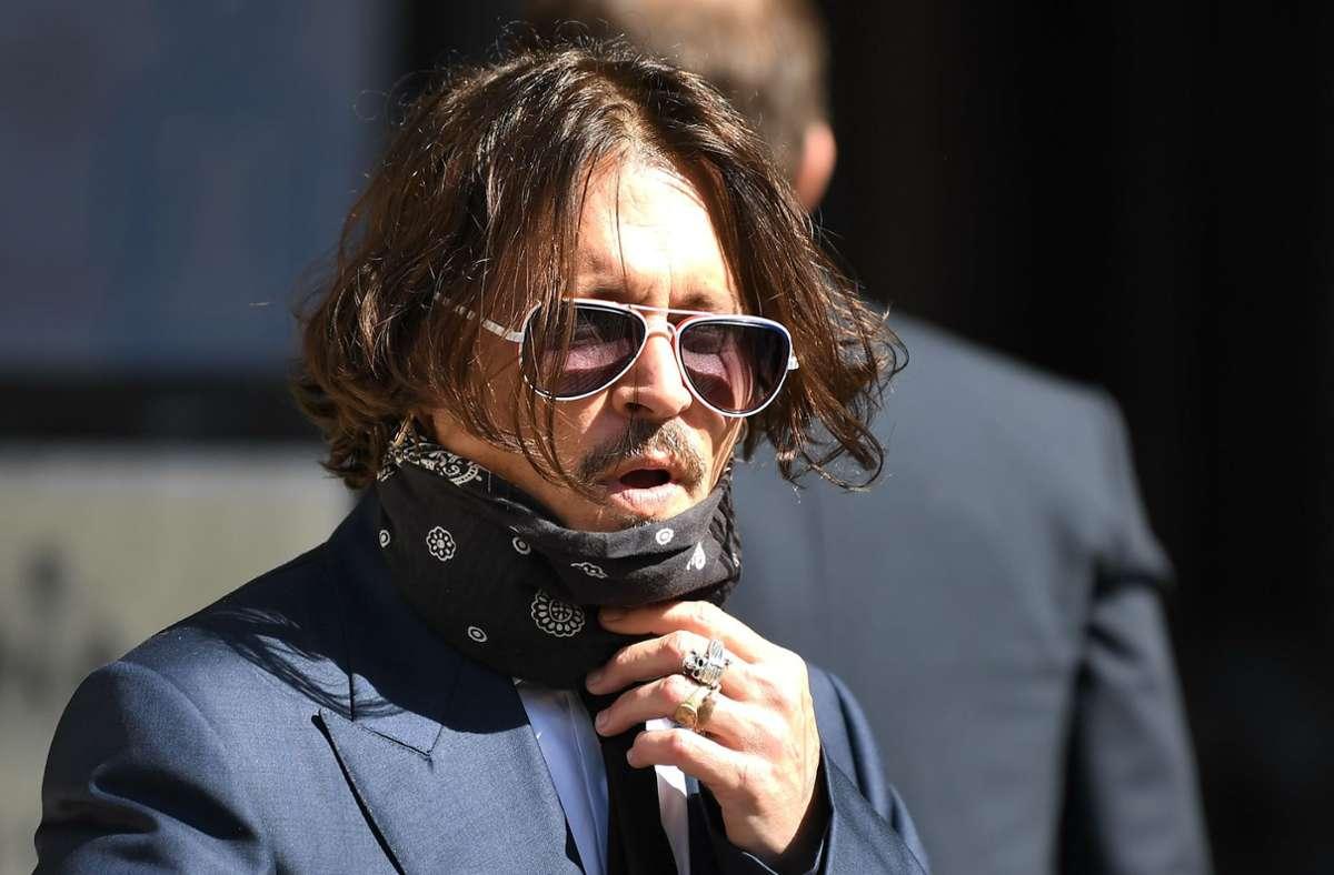 Die Gegenseite warf dem Schauspieler einen bösen Charakter vor. Foto: AFP/DANIEL LEAL-OLIVAS