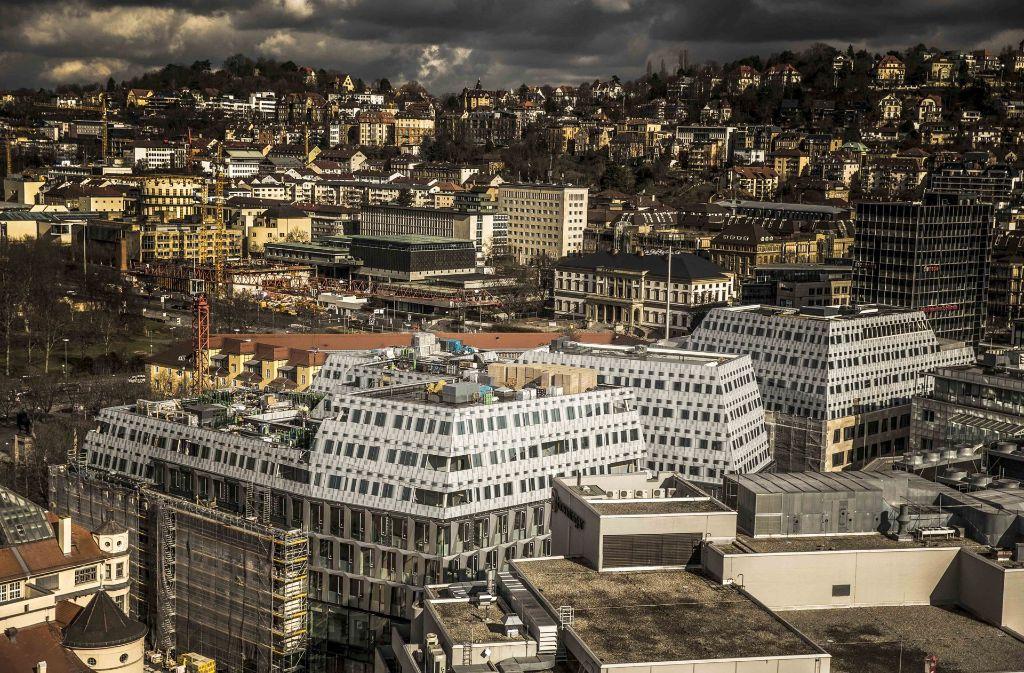 Das Doroteen-Quartier aus der Vogelperspektive Foto: Lichtgut/Leif Piechowski