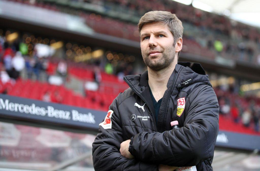 Thomas Hitzlsperger arbeitet seit fünf Wochen als Sportvorstand des VfB. Foto: Bongarts