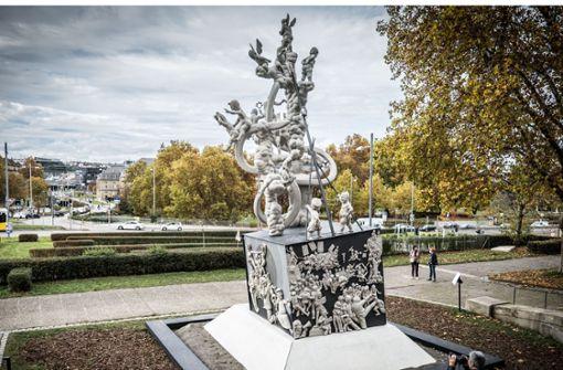 Den Vorschlag von OB Nopper lehnt der Bildhauer  ab