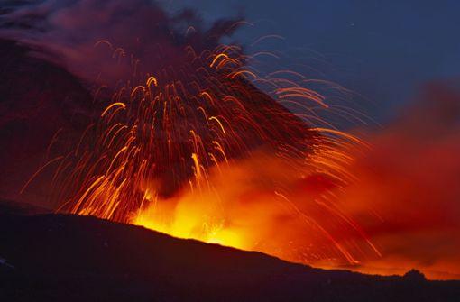 Spektakuläres Video zeigt Ausbruch des Vulkans