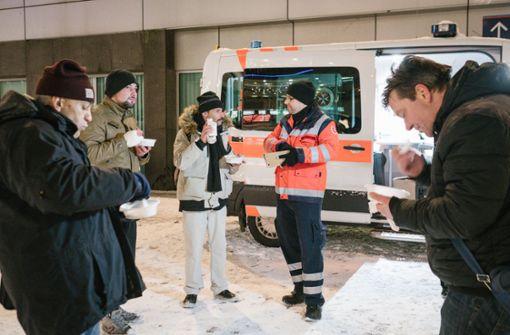 Obdachloser in Innenstadt erfroren