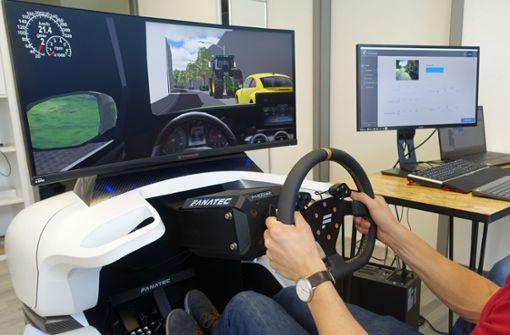 Simulator fürs Büro