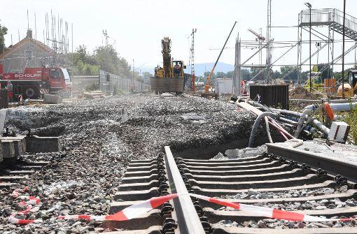 Bahn lässt zweite Tunnelröhre in Rastatt weiterbauen