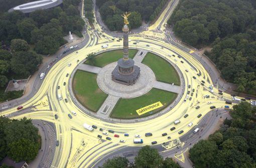 Warum ein Kreisverkehr zur Sonne wird