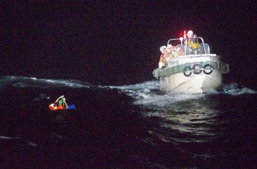 Frachter mit 43 Menschen und fast 6000 Kühen gesunken