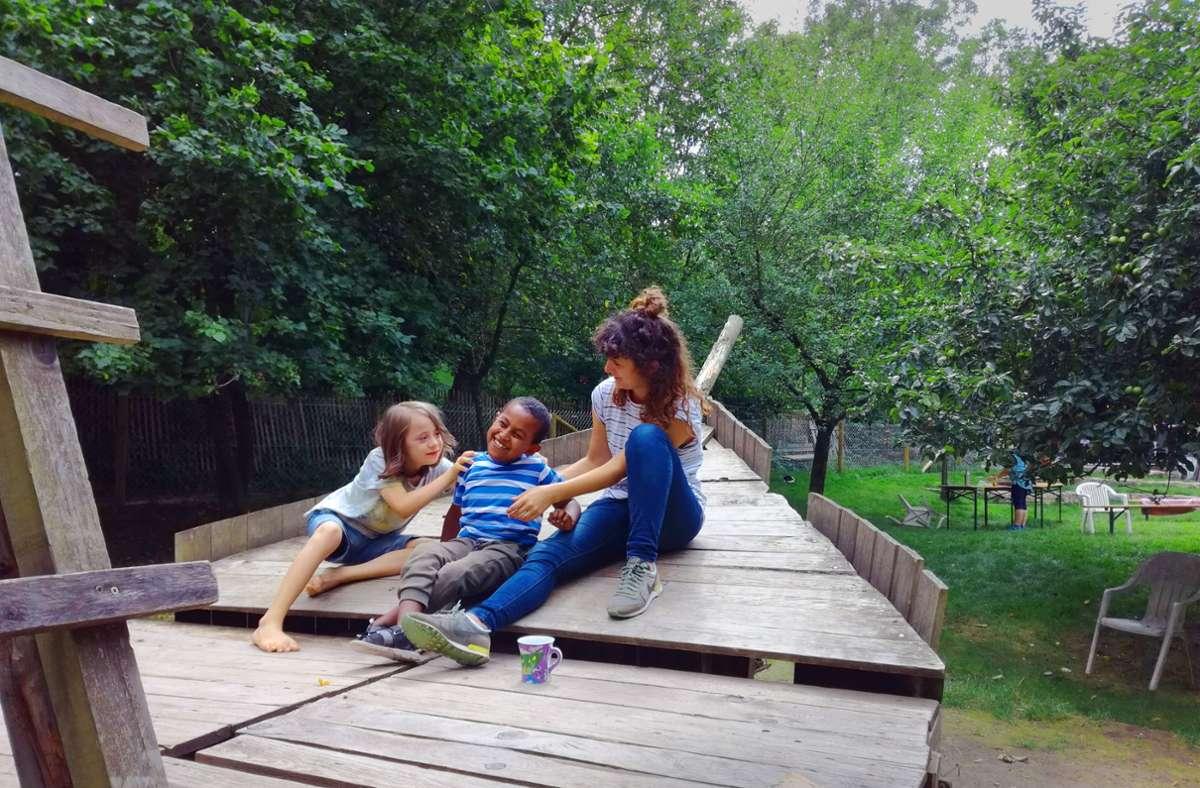 Das BHZ bietet Ferienprogramme an (hier ein Bild aus Vor-Corona-Zeit). Geflüchtete Kinder  haben schon teilgenommen. Foto: BHZ Stuttgart