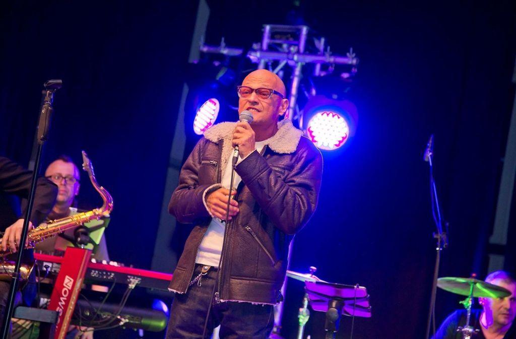 Einzigartige Stimme: David Hanselmann singt am Samstag in der Waiblinger Talaue. Foto: Veranstalter