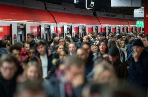 So unpünktlich war die S-Bahn 2018