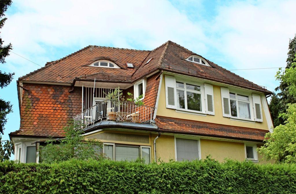 Das Hölzel-Haus an der Ahornstraße zieht schon jetzt Besucher an, soll aber durch einen Umbau zur Begegnungsstätte werden. Foto: Baur