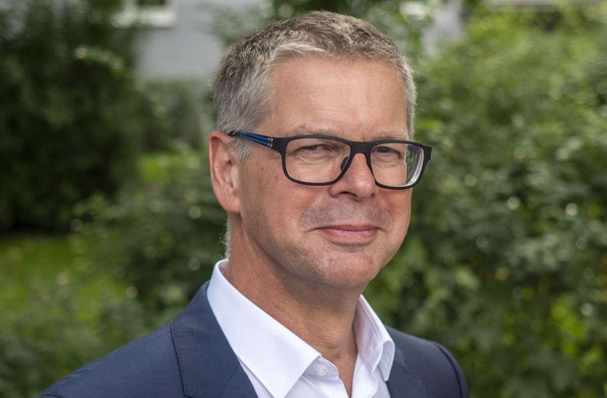 Michael Ilk ist seit über sieben Jahren im Amt. Foto: factum/Andreas Weise