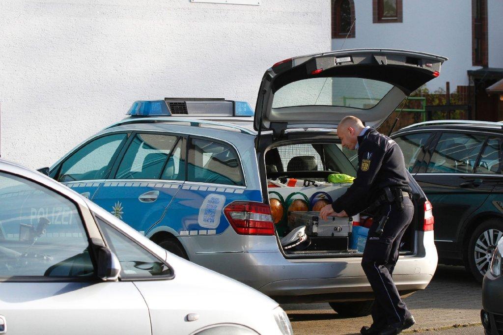 Zwei Kinderleichen sind am Sonntag in Köngen gefunden worden. Foto: www.7aktuell.de   Daniel Jüptner