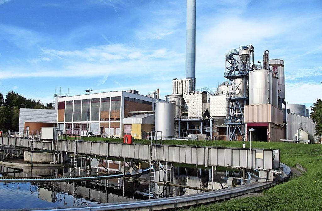Im Hauptklärwerk in Mühlhausen werden täglich bis zu 160 Millionen Liter Abwasser gereinigt Foto: SES