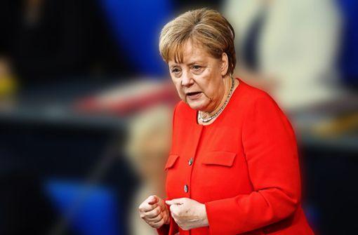 Nur einmal wird es Merkel zu bunt