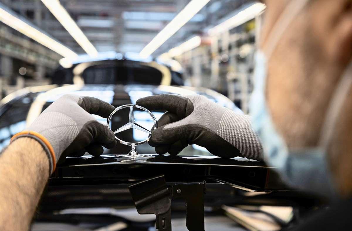 Die grüne Anleihe von Daimler war vierfach überzeichnet. Foto: Daimler AG