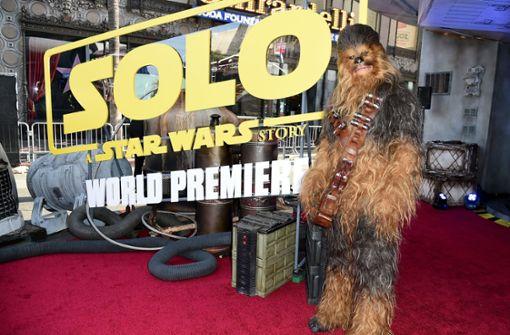 Haarige Premiere des neuen Han-Solo-Films