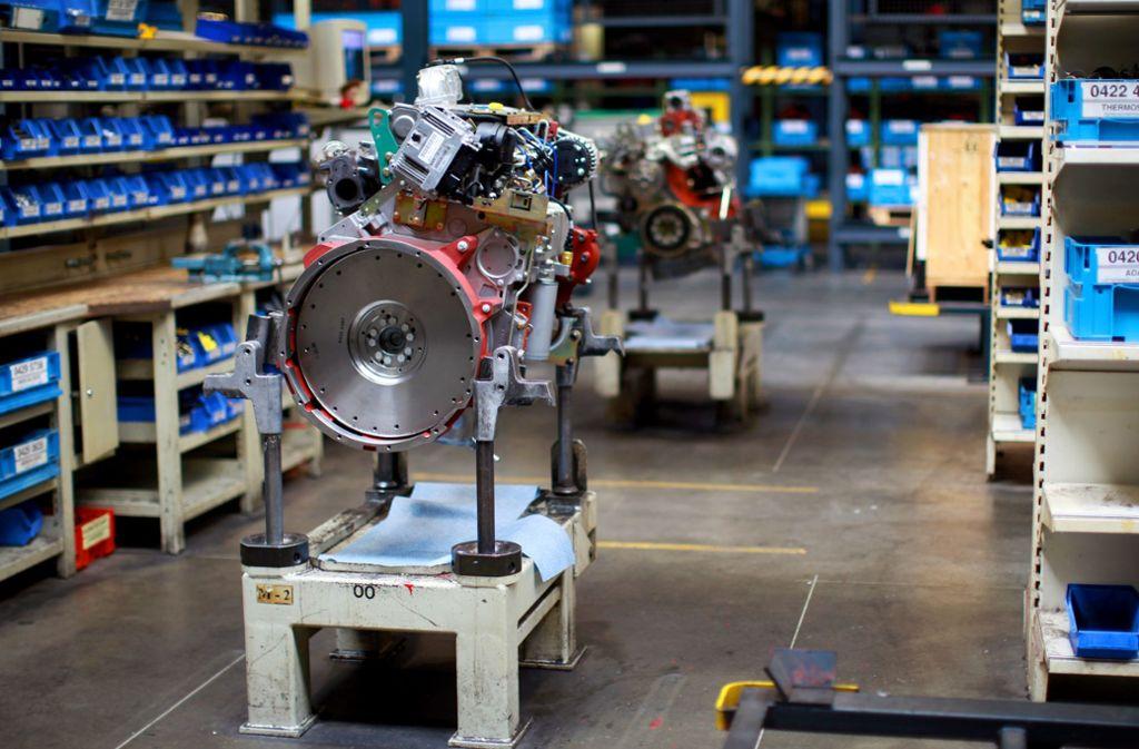 Verwaiste Produktion: so könnte es in einigen Betrieben in Baden-Württemberg aussehen, wenn die Auftragslage im vierten Quartal nicht besser wird. Foto: dpa