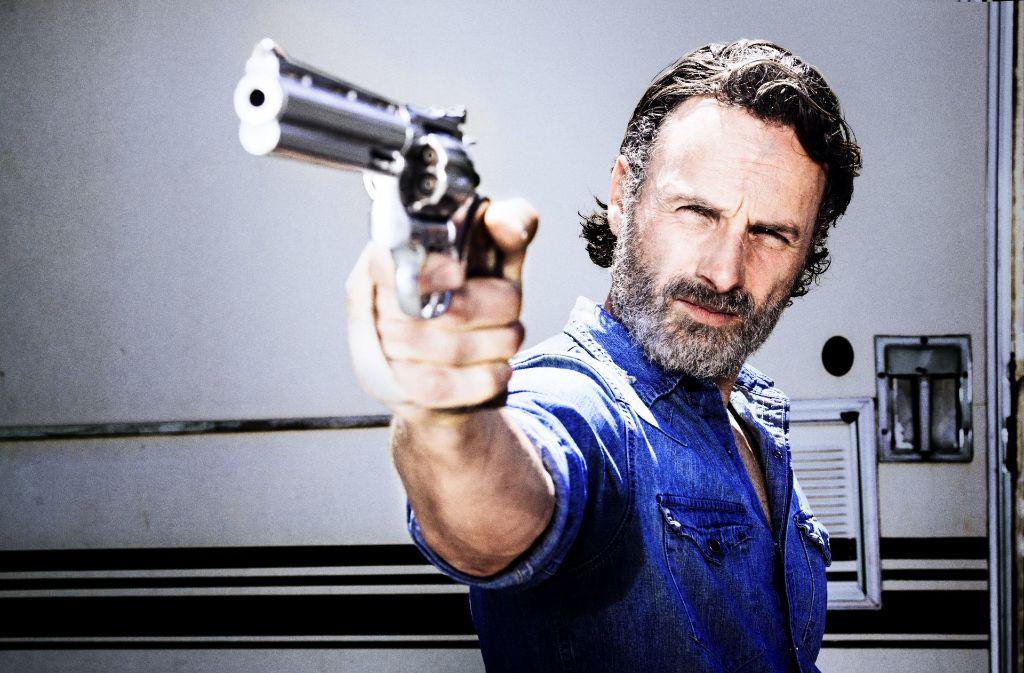 Auch wenn es nicht so aussieht: Rick Grimes (Andrew Lincoln) hat seine schlimmste Paranoia-Phase hinter sich – vorerst jedenfalls. Foto: AMC