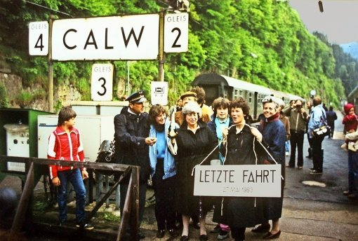 Fährt 2028 die S-Bahn bis nach Calw?