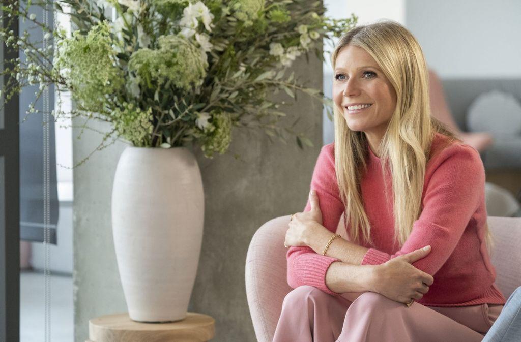 Gwyneth Paltrow: Die Schauspielerin macht mit ihrer   Lifestyle-Marke Goop viele   Millionen. Jetzt startet ihre eigene Show auf Netflix. Foto: Adam Rose/Netflix
