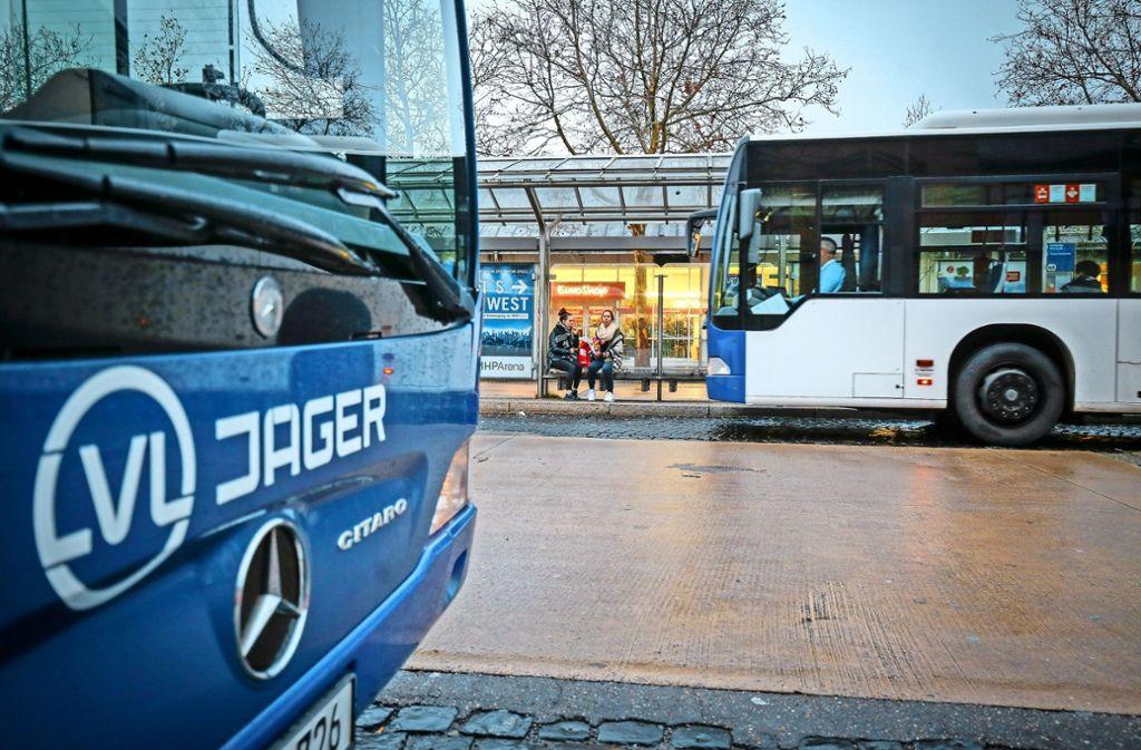 Fährt weiterhin in Ludwigsburg: Die Busfirma LVL Jäger. Foto: factum/Granville