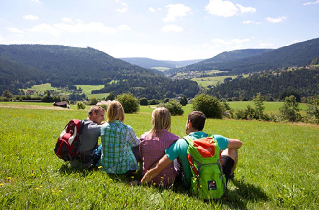 Baiersbronner Wanderhimmel - Das Wanderparadies in der Nationalparkregion Schwarzwald  Foto: Baiersbronn Touristik