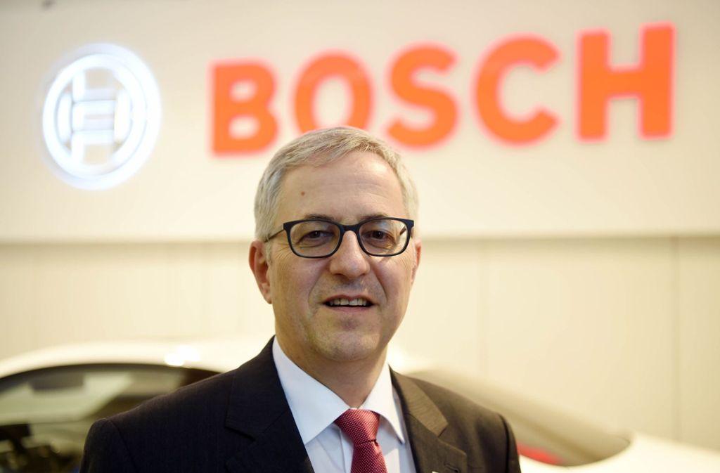 Nach  30 Jahren bei Bosch  wechselt  Rolf Bulander  Ende 2018  in den Ruhestand. Foto: dpa