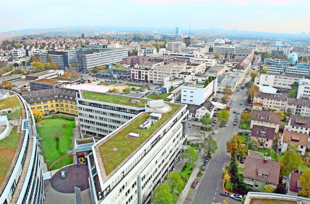 Das Modellprojekt Synergiepark Plus soll das Industriegebiet im Ganzen betrachten und Veränderungen und Einzelprojekte besser miteinander vernetzen. Foto: Günter  Bergmann