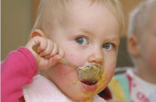 Gekaufter Babybrei ist nicht  gut für Kinder