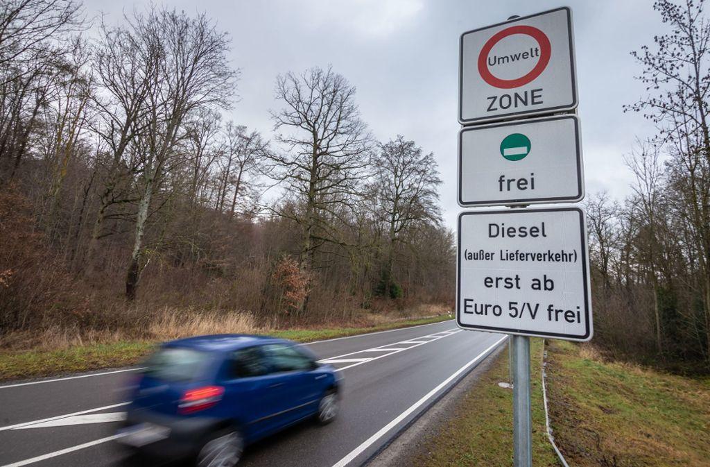 Die Landesregierung muss die Ausweitung des Diesel-Fahrverbots im Luftreinhalteplan vorsehen, das hat der Verwaltungsgerichtshof klargestellt. Foto: Lichtgut/Julian Rettig