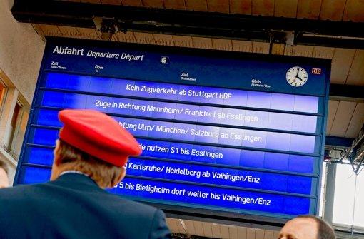 Dass bei Stuttgart 21 so vieles schief läuft, ist laut Verkehrsministerium Foto: dpa