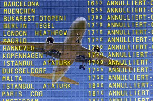 Flug fällt aus, kein Geld zurück – was tun?