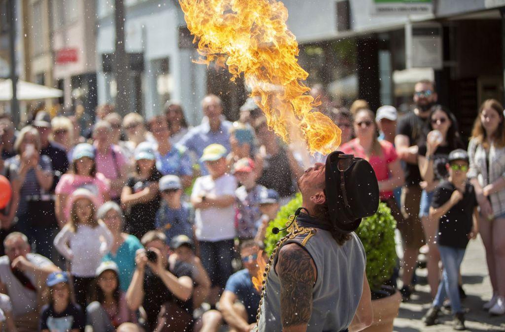 Durchgezündet hat das Straku-Festival in der Esslinger Kulturszene Foto: Michael Steinert