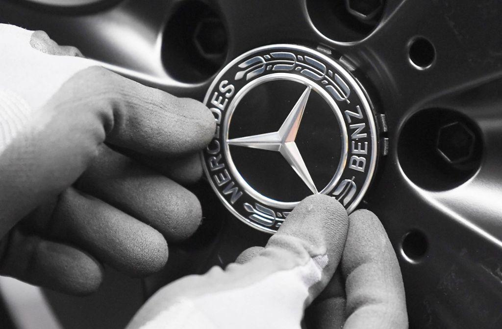 Der Stern zählt zu den bekanntesten Markenzeichen der Welt – der spanische Frauenname Mercedes gilt als  Inbegriff für Autos. Foto: dpa/Uli Deck