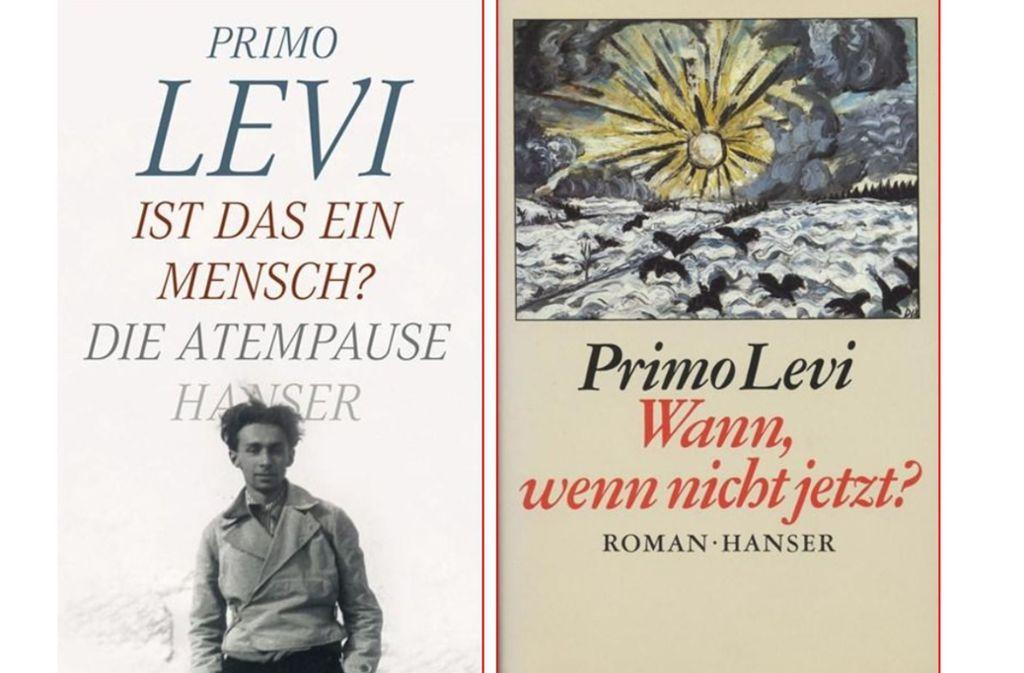 Primo Levis Bücher gehören zu den wichtigen Zeugnissen des Holocaust. Foto: Hanser Literaturverlag