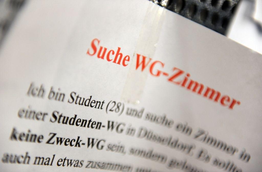 Das Wohnen wird für Studenten immer teurer – auch in Stuttgart. Foto: dpa