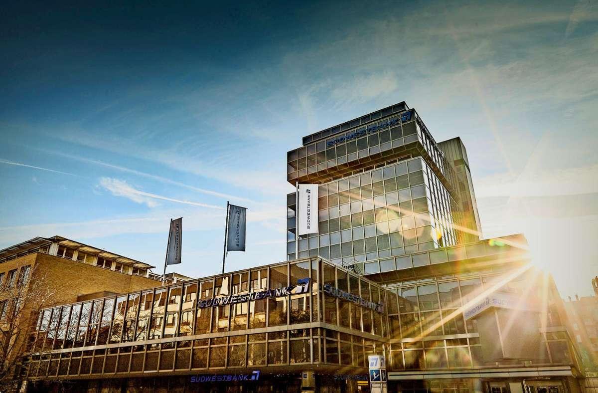 Die Marke Südwestbank soll auch nach der Verschmelzung mit dem Mutterkonzern erhalten bleiben. Foto: SWB