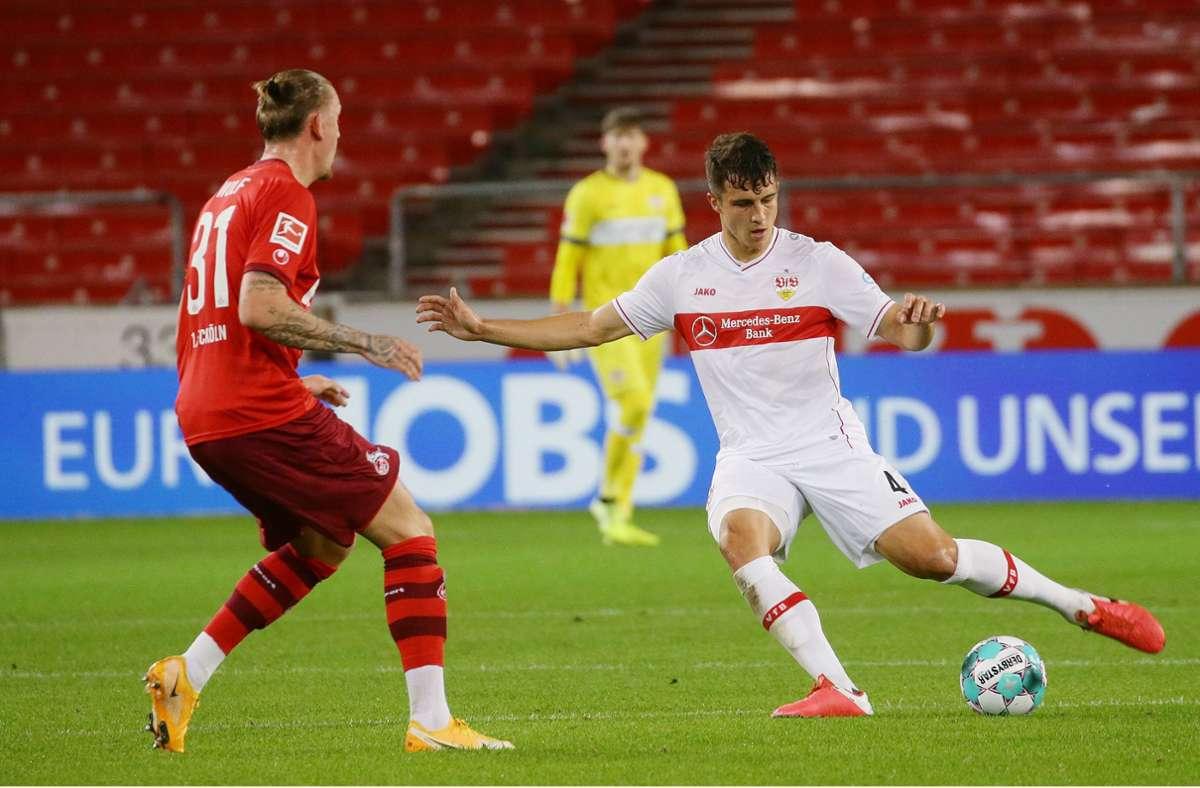 Marc Oliver Kempf kann am kommenden Freitag wohl wieder für den VfB Stuttgart auflaufen. Foto: Baumann